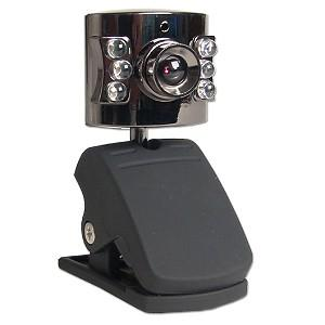 6 Led Infrared Night Vision 1 3 Mp Megapixel Usb 2 0 Webcam With Audio Microphone